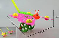 Каталочка игрушка для малышей 865-2 бабочка, в пакете