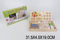 Деревянная логика 258A-3 (1660391) в коробке 31,5*4*19 см.