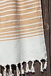 Плед-накидка 150х200см Quad бежевый Barine, фото 2
