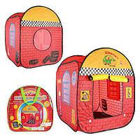 Палатка детская M 1866  гараж, в сумке, 37-37-6 см.