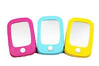 Мобильный Телефон детский детский 6687 3 цвета, батарейки , в пакете, 11,5*7,5*2 см.