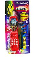 Мобильный Телефон детский детский 0024 батарейки , на планшетке