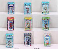 Мобильный Телефон детский детский 610-9MIX 9 видов, батарейки , см. артфонна планшетке 23*12*2 см.