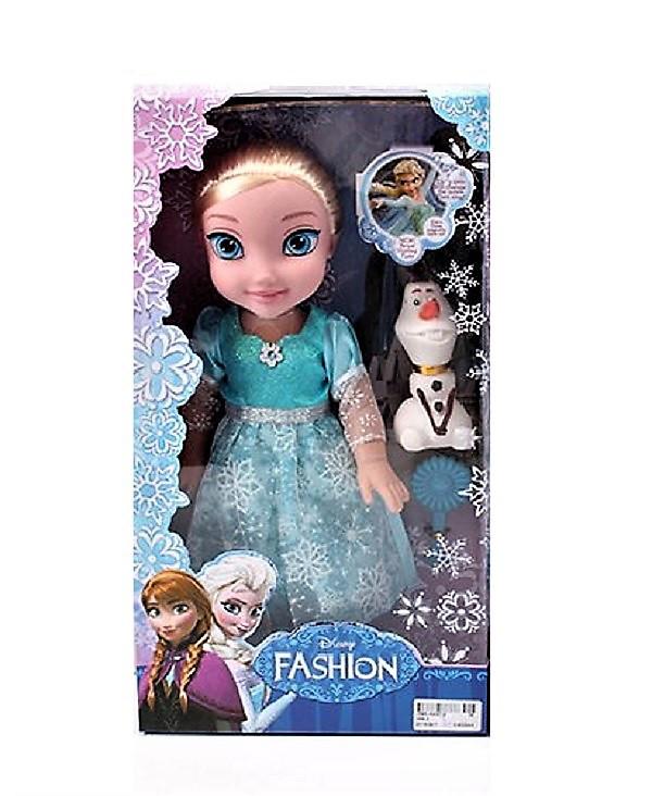 """Кукла """"Frozen"""" 368, музыкальная, со снеговиком, в коробке."""