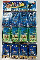 Водная игра в колечки 5869A-2D/12B  12  штук на листе, цена за упаковку