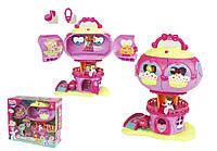 Кукольный домик игровой набор My Little Pony 799  с пони, аксесс. бат.  музыкальная игрушка детская  в коробке  33*38*16 см.