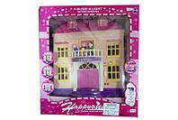 Кукольный домик игровой набор 2006-4A музыкальная игрушка детская свет, фигурки семьи, в коробке
