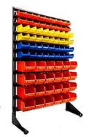 Стеллаж для метизов с ящиками под крепеж Арт15-78 ЖОС