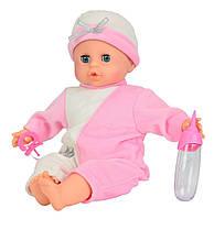 Пупс Лаура интерактивный плачет настоящими слезами бежево-розовый Simba 5141238