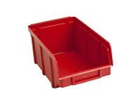 Пластмассовые емкости для метизов болтов 702 красный 75 100 155