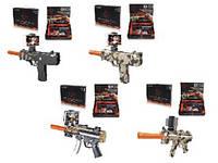Автомат іграшкова зброя AR GUN AR0754-1/2/3/4 5 видів в кор 33*6*24 див.