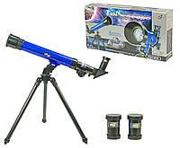 Телескоп детский C2101  на треноге, 3 набора линз, в коробке 43*8,5*22 см.