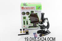 Микроскоп детский C2119 (1005586)  акссесуары в коробке  19*8,5*24 см.