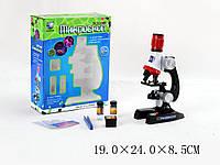 Микроскоп детский C2121 (1006265R)   батарейки , фокусировка, аксесс., в коробке 19*24*8,5 см.