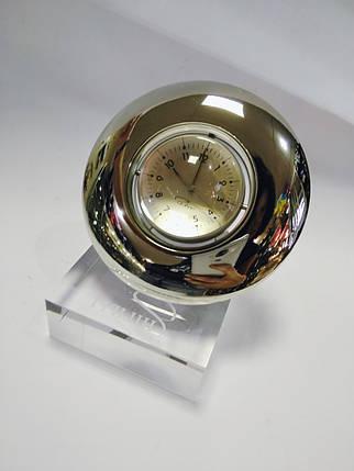 Часы настольные плюс фоторамка Philippi Scroll P178008, фото 2