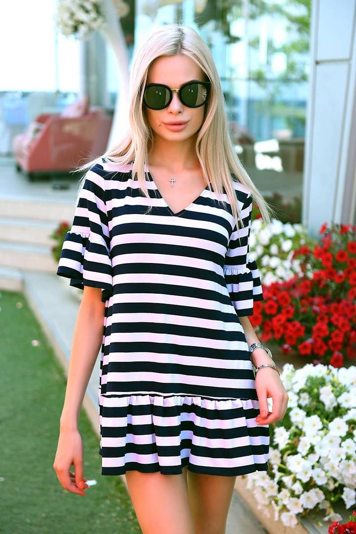 9afa1226eb5e6 Летнее пляжное платье в полоску / вискоза / Украина: купить оптом и ...