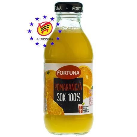 Сок фортуна 100% (апельсин) 300мл