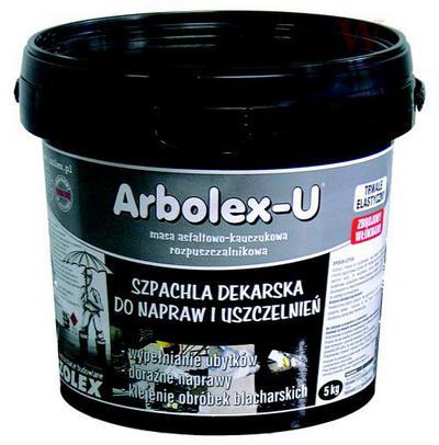 Бітумно-каучукова мастика Izolex ARBOLEX U 5 кг