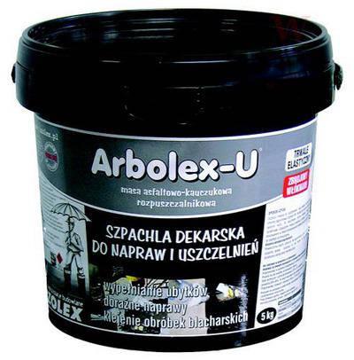 Бітумно-каучукова мастика Izolex ARBOLEX U 5 кг, фото 2
