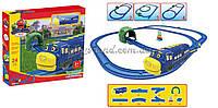 Детская железная дорога  батарейки  959  в коробке 39,5*34*6 см.