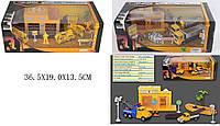 Игровой набор металл GZ3136C/138C/142C (1478988-89-1348536) СТРОЙКА 3 вида, в коробке 36,5*