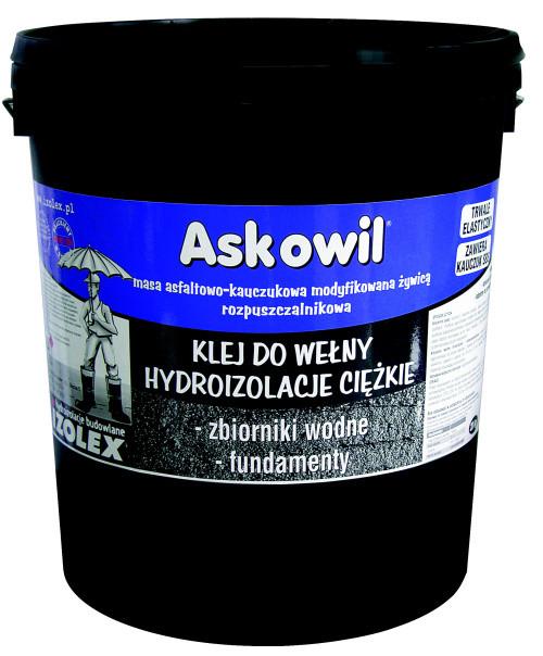 Битумно-каучуковая мастика Izolex ASKOWIL GONT 10 кг