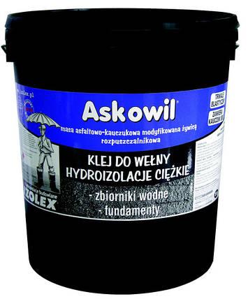 Битумно-каучуковая мастика Izolex ASKOWIL GONT 10 кг, фото 2