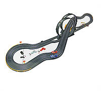 Трек для машинок детский 13817  от сети, 2 машины, длина трассы 598  см. , в коробке 58*37*11 см.