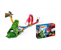 Трек для машинок детский  инерционная 5777  в наборе 2 машины, в коробке 56*7*36 см.
