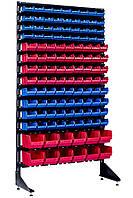 Односторонний стеллаж с ящиками для метизов 1800 мм