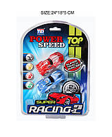 Іграшкова машинка Power Speed арт.68818 24*18.5 см. 2 штук на планшетці
