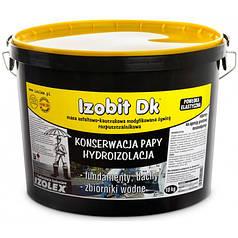 Битумно-каучуковая мастика Izolex IZOBIT DK 19 кг