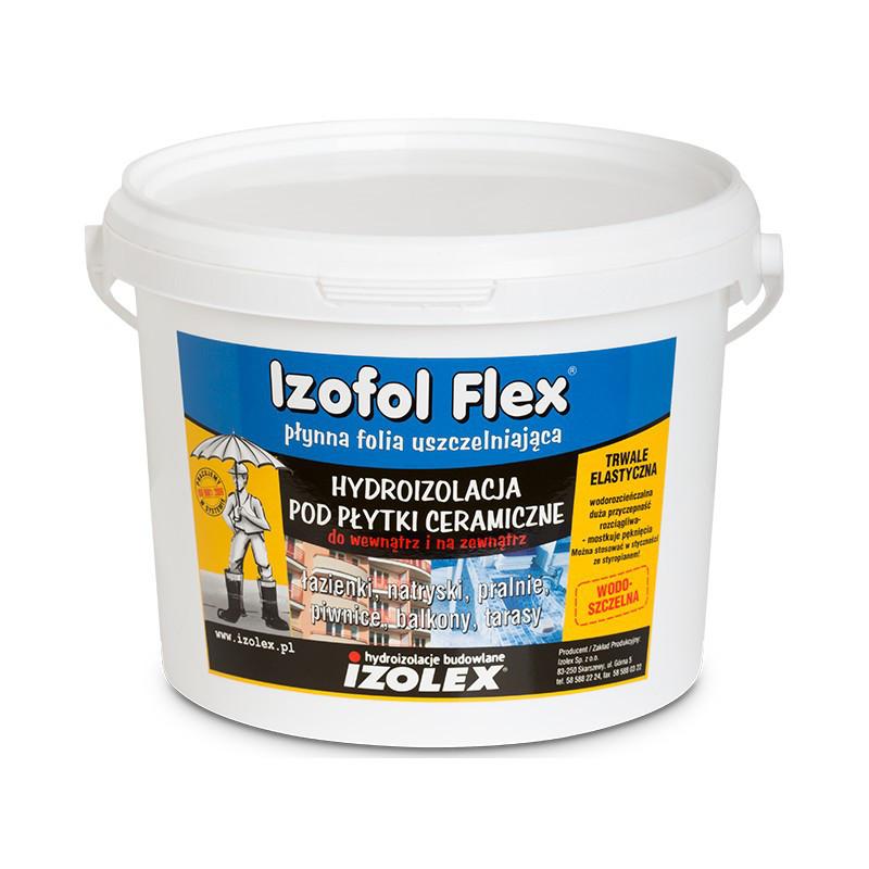 Мастика гидроизоляционная Izolex IZOFOL FLEX 7 кг