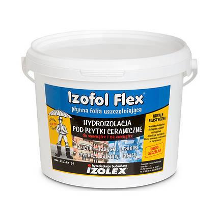 Мастика гидроизоляционная Izolex IZOFOL FLEX 7 кг, фото 2