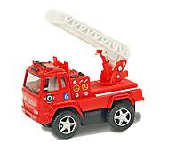 Игрушечная машинка металл KINSMART KS3507W FIRE ENGINE, в коробке 11,5*5*11 см.