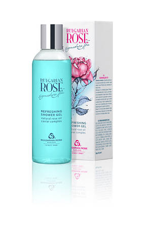 Освежающий гель для душа Боларская Роза Bulgarian Rose Signature Spa 200 мл, фото 2