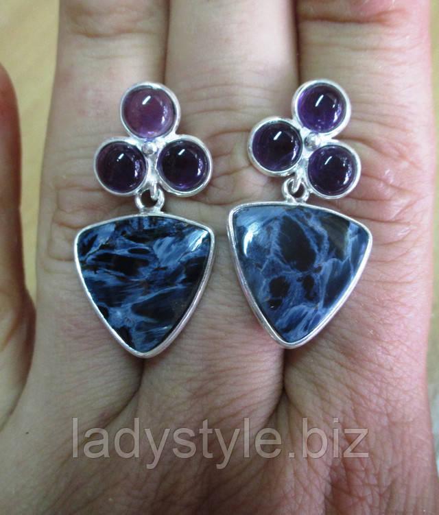 купить кольцо перстень с рутиловым кварцем волосатиком серебро