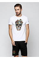Чоловіча футболка F414 з Черепом