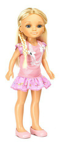 Кукла Ненси 43 см розовое платье Nancy Famosa 10361