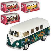 Машина метал. Volkswagen Bus 1962KT5060WF