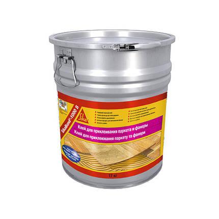 Клей для напольных покрытий SikaBond 1000 S 17 кг., фото 2