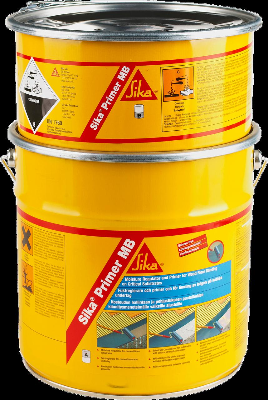 Грунтовочный и влагоизоляционный материал SikaPrimer-MB (AB) 10 кг (голубой)