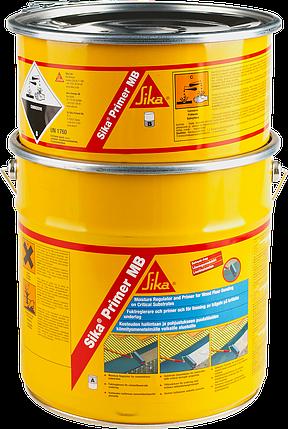Ґрунтувальний і вологоізолюючий матеріал SikaPrimer-MB (AB) 10 кг (блакитний), фото 2