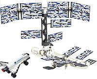 Конструктор Brick 510 Космическая станция, 176 дет., в разобр. коробке 24*19*6 см.
