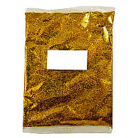 Глиттер Блестки Темное золото для декора 1 кг/уп