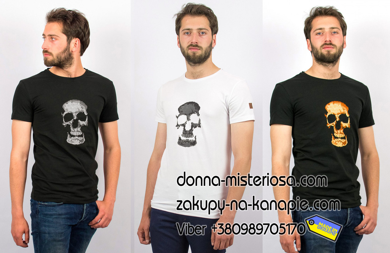 Чоловіча футболка Череп F 412 daf50d5c5cbb3