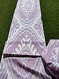 """Шелковая ткань в технике """"Икат"""" ручного ткачества. Маргилан, Узбекистан, фото 2"""