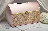 Сундучок для денег Jewel (розово-золотой)