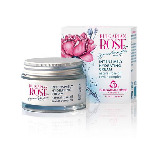 Интенсивно увлажняющий крем для лица Болгарская Роза Bulgarian Rose Signature Spa 50 мл, фото 2