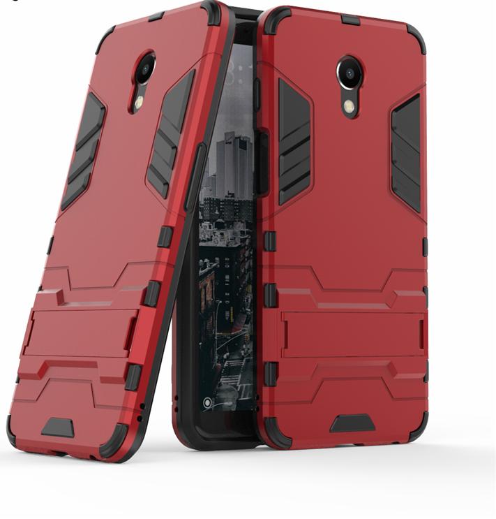 Чехол Бампер Броня для Meizu M6S бампер Red